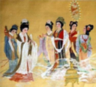 Queen Wu Zetian of Tang Dynasty in History of China