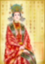 Ma Xiu Ying the Queen of Emperor Zhu Yuan Zhang or Hong Wu of Ming Dynasty in History of China