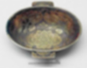 Gilding Silver Wine Cup (Yu Shang) of Tang Dynasty