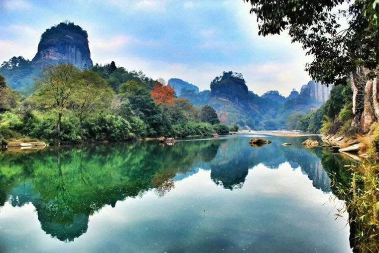 Autumn of Mount Wuyi