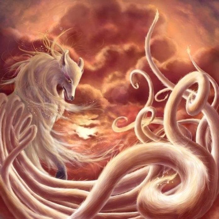 Mythical nine tales fox Jiu Wei Hu