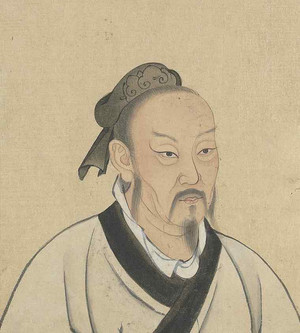 Portrait of Mencius, by Artist of the Yuan Dynasty (1271 — 1368)