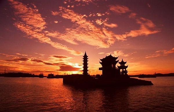 Luoxingdun of Poyang Lake