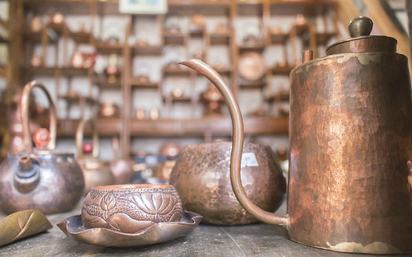Naxi Dongba Culture Traditional Copper Carving