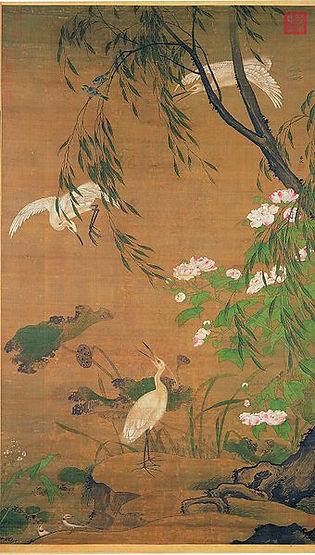 Animal Painting by Lv Ji (Around 1429 — 1505)