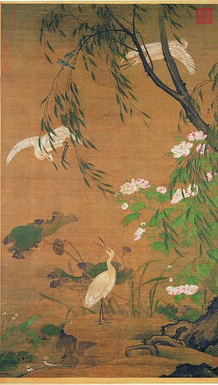 Animal Painting by Lv Ji (Around 1429 — 1505)