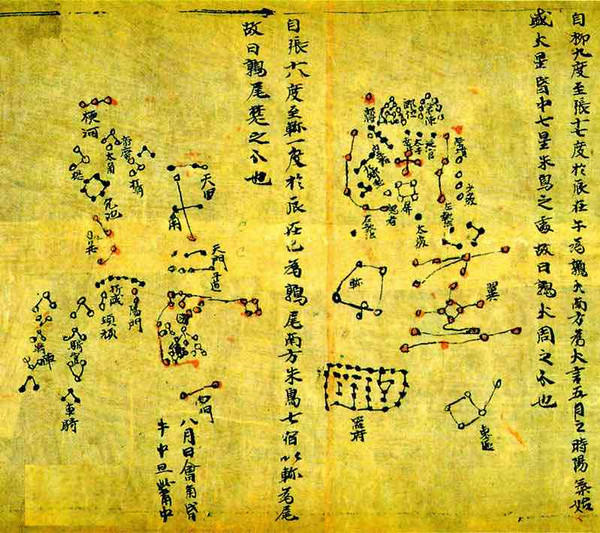 Dunhuang Star Map of the Tang Dynasty