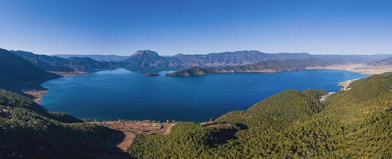 Lugu Lake or Lugu Hu of Lijiang