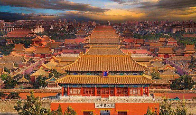 Forbidden Palace in Beijing City