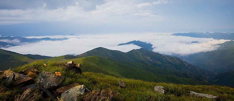 Peaks of Mount Wutai