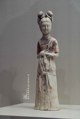 Painted Pottery of Female of the Tang Dynasty — National Museum of China