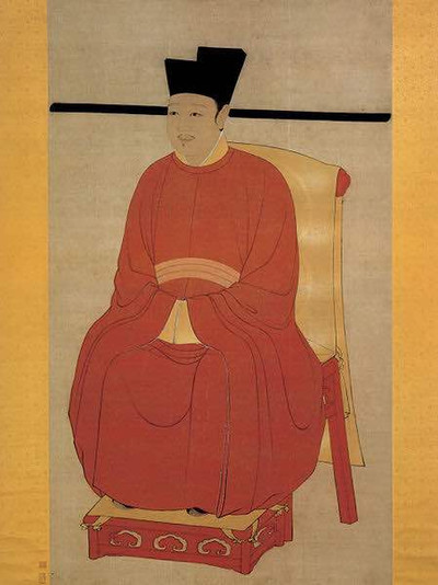Portrait of Zhao Ji the Emperor Huizong of Song Dynasty