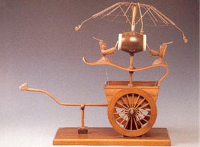 "Odometer Cart ""Ji Li Gu Che"" of the Song Dynasty"