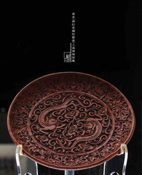 Unearthed Lacquer Plate of the Song Dynasty — Shanghai Museum