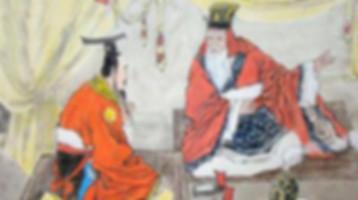 Confucianism philosopher Dong Zhongshu and emperor Liu Che