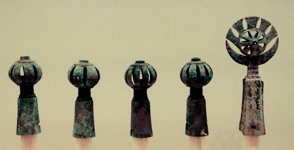 Bronze Bells on Horse Collar of Early Western Zhou Dynasty