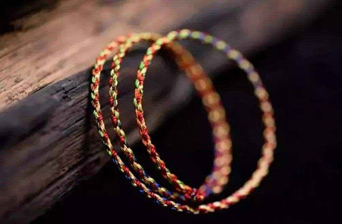 Five Color Strings to wear on the Dragon Boat Festival in China
