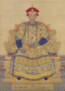 Portrait of Kangxi Emperor, By Court Artist of the Qing Dynasty