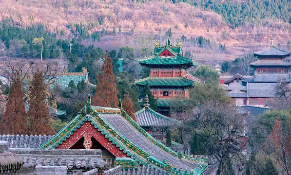 Ancient Buildings of Mount Song