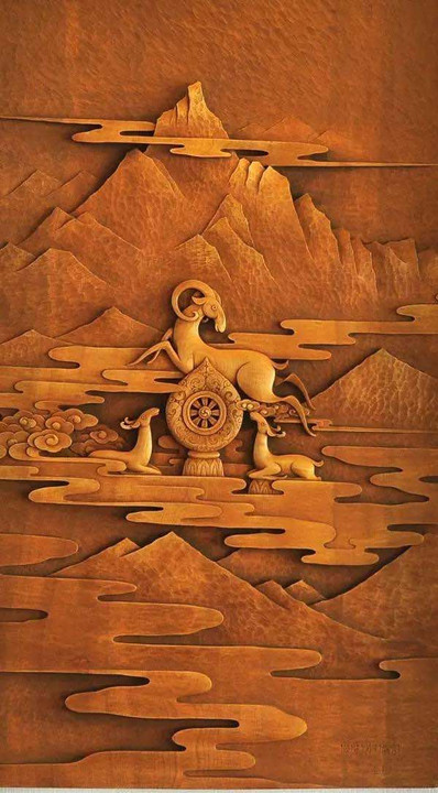 Naxi Traditional Wooden Carving