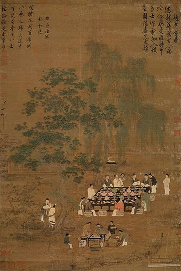 Figure Painting by Emperor Huizong of Song (1082 — 1135)