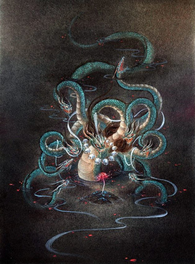Mythical animal Xiang Liu Produced by Artist Shan Ze or Li Yifan or VIKI LEE