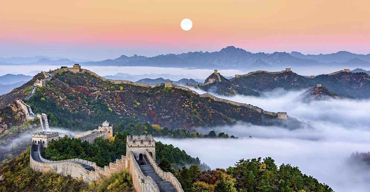The Great Wall of China, Photo from Official Site of Jinshanling Great Wall.