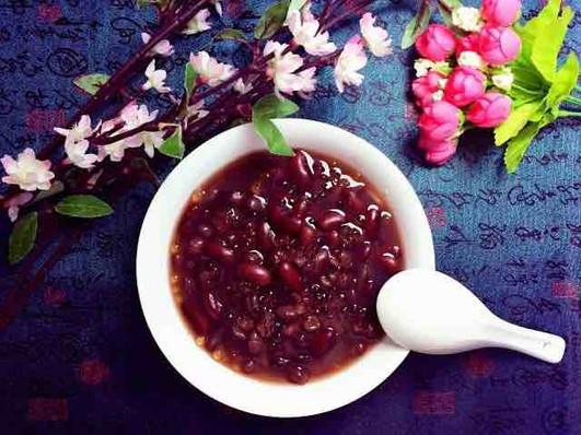 Red Bean Soup, or Hongdou Tang