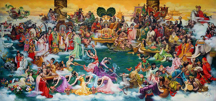 Banquet of Immortals in Chinese Mythology