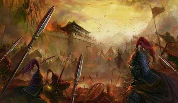 Intense Wars in the End of the Ming Dynasty