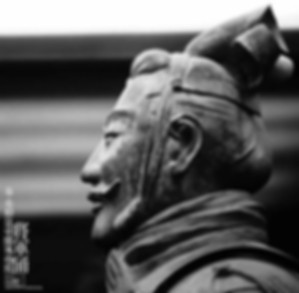 Figurine of the Highest Rank General Among Emperor Qin Shi Huang's Unearthed Terracotta Warriors