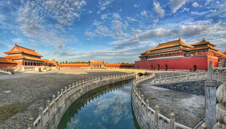 Moat and Bridges of the Forbidden City