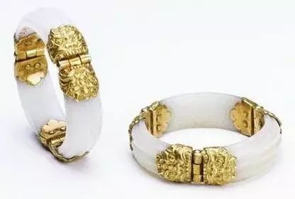 Gold and Jade Bangle of the Sui Dynasty (589 — 619) — National Museum of China