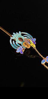 Filigree and Enameling Phoenix Hair Ornament Buyao