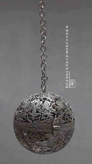Exquisite Silver Sachet that Was Popular Among Noble Women of the Tang Dynasty