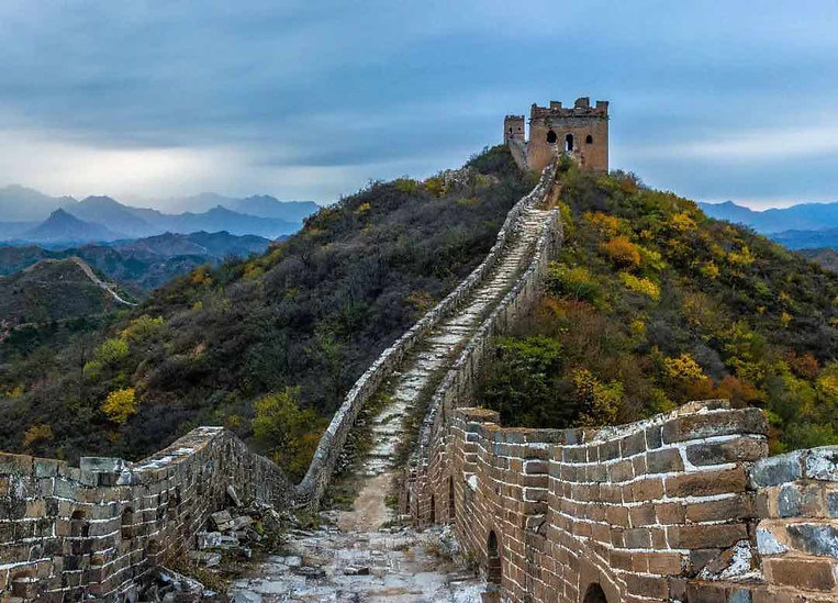 Relics of the Great Wall of China