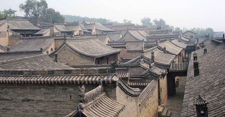 The Ancient City of Pingyao in Shanxi Province of China