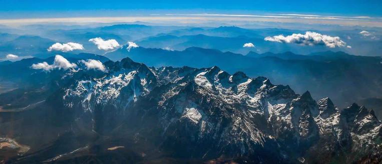 Jade Dragon Snow Mountain or Yulong Xueshan of Lijiang