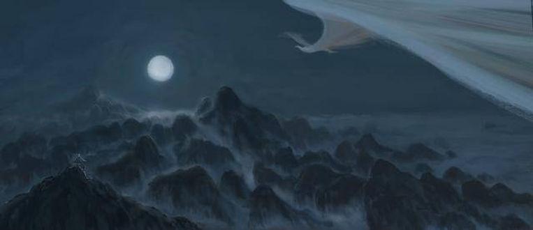 Mythical Bird Peng in Chinese Mythology.