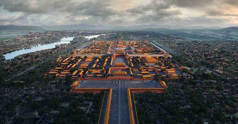 The Forbidden City in Beijing that was Constructed Under Command of Yongle Emperor Zhu Di