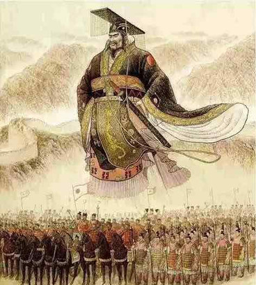 Qin Shi Huang the first emperor in China