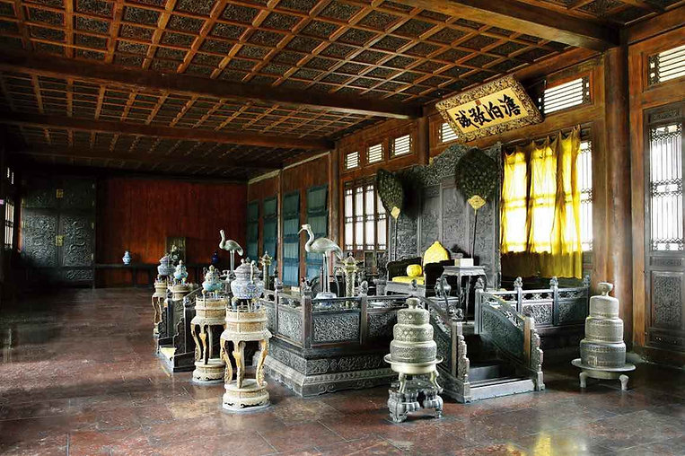 Danbo Jingcheng Dian, the Main Hall Where Emperors Held Meetings and Ceremonies, Photo from Official Site of Chengde Mountain Resort.