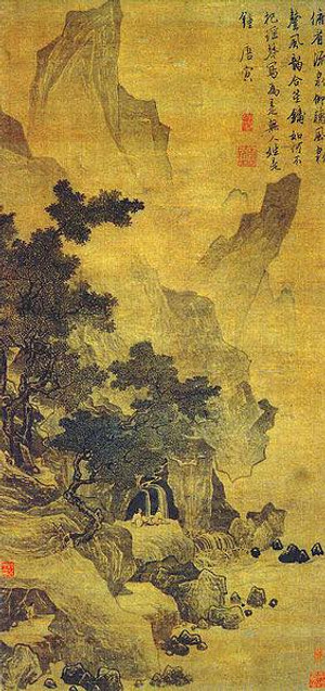 Landscape Painting by Tang Yin (1470 — 1524)