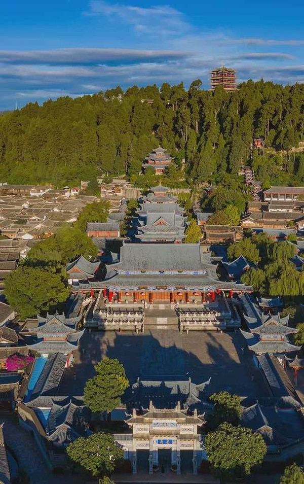 Mu Fu Mansion in the Old Town of Lijiang