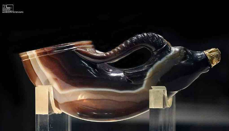 Agate Wine Cup — Shaanxi History Museum