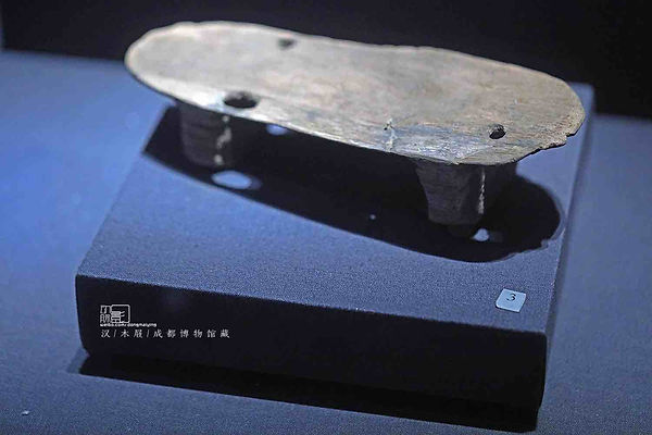 Unearthed Clogs of the Han Dynasty