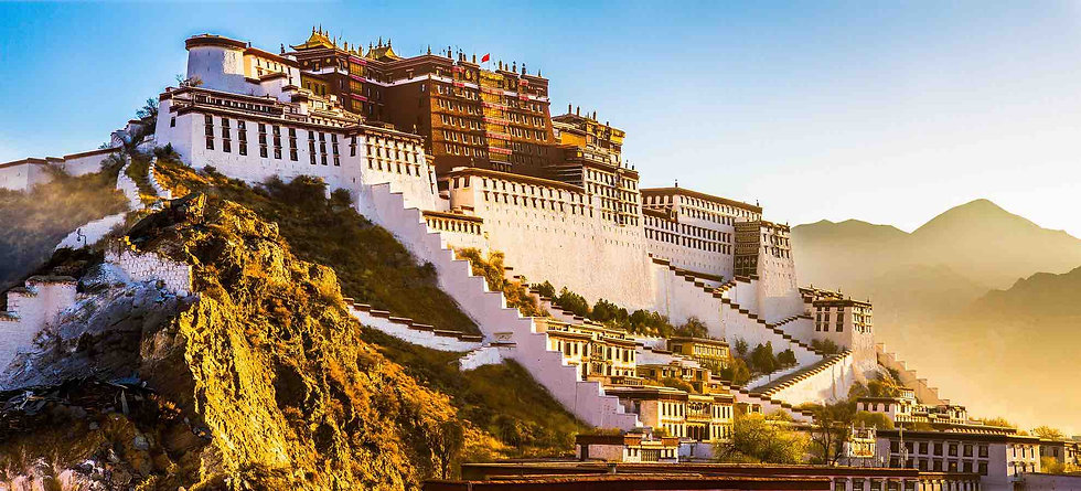 Potala Palace by Official Site of Budala