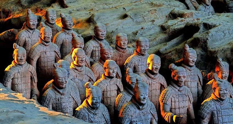 Terracotta Army of the Mausoleum of the First Qin Emperor