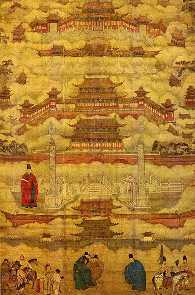 Forbidden City Depicted by People of the Ming Dynasty