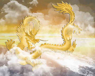 Ying Long the Yellow Dragon in Mythology in China